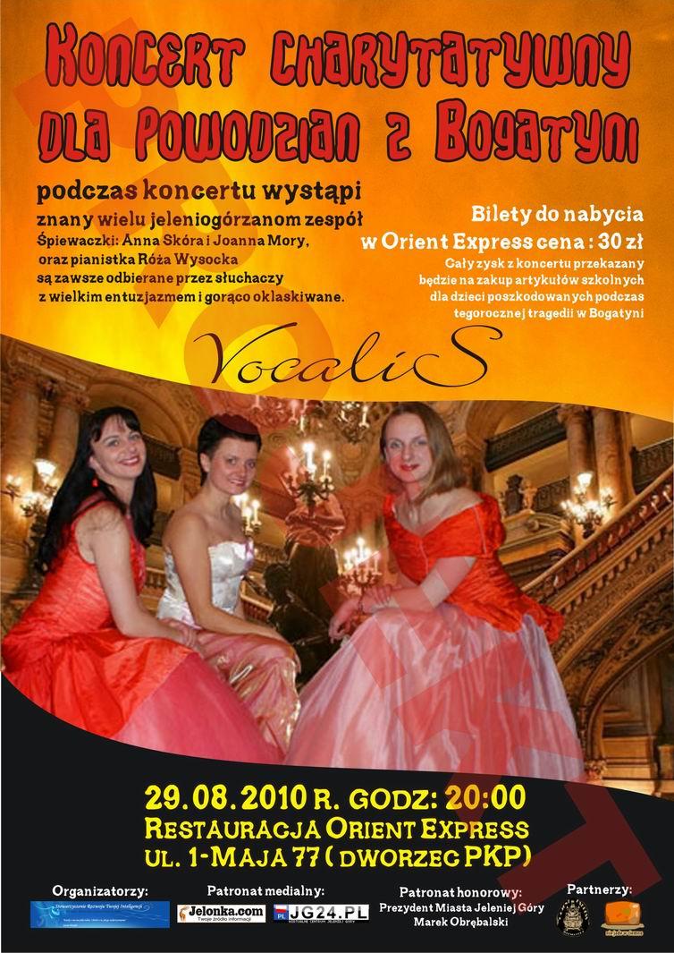 Koncert charytatywby w Orient Express